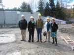 Bellevue Arts Commission Hard Hat Tour of Bellevue Youth Theater